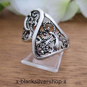 Damen Ring Silber 925 Jugendstil Gothic Keltisch Celtic