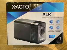 X Acto Xlr Office Electric Pencil Sharpener Charcoal Black