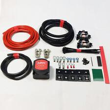 Split Charge Durite Relay Kit 5mtr 12V 140amp Voltage Sensitive