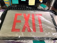EXIT SIGN NEW in Box, LED w/ Emer. backup, 120VAC