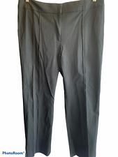 Jones Sport~Stretch* Size 16 Black Two Way Stretch Twill Pintuck Nwt $69.00