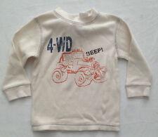 GAP Boys' Long Sleeve Sleeve 100% Cotton T-Shirts & Tops (2-16 Years)