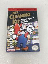 NES Nintendo 1991 Cleaning Kit Accessory New Sealed Mario