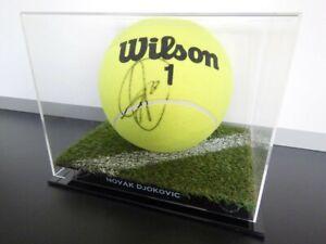 ✺Signed✺ NOVAK DJOKOVIC Full-Size Tennis Ball PROOF COA 2021 Australian Open