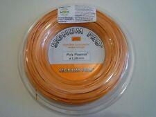 * Nuovo * SIGNUM PRO POLY plasma corde ruolo 200m TENNIS 1.28mm stringreel Orange 16