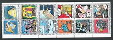 1988 FRANCIA LA COMUNICAZIONE BLOCCO 12 VALORI MNH ** - CZ10