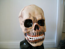 Horror halloween latex skull mask