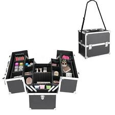 Aluminum Makeup Train Case Organizer Lockable Beauty Cosmetic Box Storage Bag