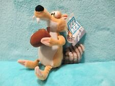 """BNWT 2012 PLAY BY PLAY Ice Age 4 Continental Drift - Scrat Soft Plush Toy 7"""""""