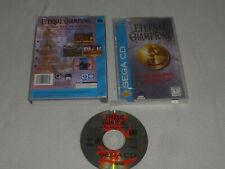 BOXED SEGA CD GAME ETERNAL CHAMPIONS COMPLETE W CASE & MANUAL DEEP WATER