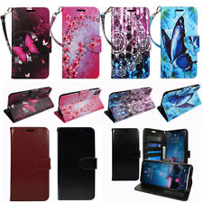 For LG V40 ThinQ PU Leather Flip Magnetic Wallet Stand Strap Design Case Cover