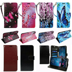 """For Apple iPhone XR 6.1"""" PU Leather Flip Magnetic Wallet Stand Design Case Cover"""