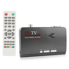 With VGA HDMI AV Output DVB T2 Audio Video Digital Converter Adapter for PC HDTV