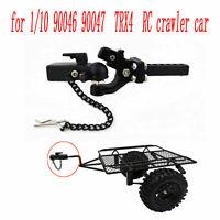 1:10 Metall Anhaengerhaken Halterung Für SCX10 Traxxas TRX4 90046 RC Crawler Car