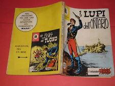 COMANDANTE MARK COLLANA ARALDO-DA LIRE 200 N°2 ORIGINALE CON LA- A -1966 BONELLI