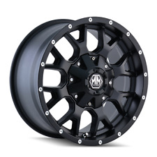 Mayhem Warrior 8015 Matte Black 20x9 18mm 5x150 5x139.7 Dodge Ram Tundra 5 lug