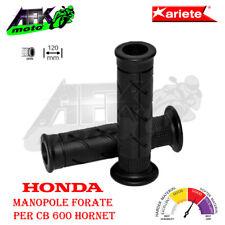 Manopole Forate 120 mm Soft Grips Nero Honda CB 600 Hornet 2006-2007-2008-2009