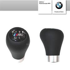 Original BMW Schaltknauf 3er E46 M-Sport Leder 5-Gang Schwarz kurz Schalthebel