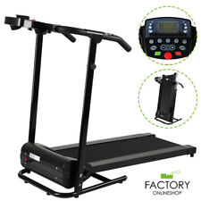 800W Folding Electric Treadmill Running Machine Fitness Gym Cardio Exercise