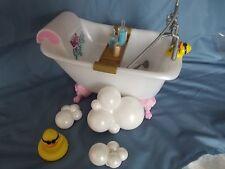 Bratz Big Babyz Doll Play Furniture Claw Foot Bathtub With Accessories