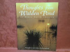 Thoughts from Walden Pond - Henry David Thoreau - New P/B Pomegranate