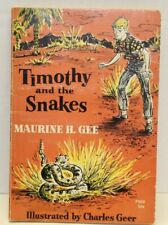 Timothy and the Snakes Maurine H. Gee  Vintage Young Readers Paperback