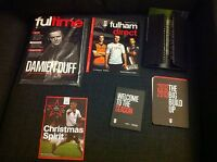 Fulham FC official FULTIME magazine DAMIEN DUFF and other football memorabilia