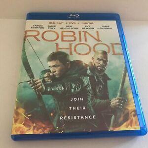 2018 Robin Hood Movie Blu-Ray Disc Only (No DVD No Digital)