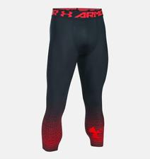 Under Armour Heatgear Armour Graphic 3/4 Men's Leggings Antracite 1298232-L