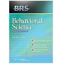 BRS Behavioral Science (Board Review Series) 6E 6th Edition by Barbara Fadem
