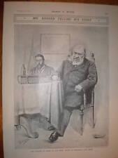 South Africa Boer leader Paul Kruger print 1902