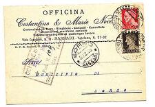 L235-SASSARI-OFFICINA COSTANTINO E MARIA NOCE 1938