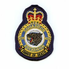 RCAF CAF Canadian 439 Squadron Heraldic Colour Crest Patch