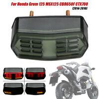 Motorrad Rücklicht Bremsleuchte Blinker für Honda Grom 125 MSX125 CBR650F CTX700