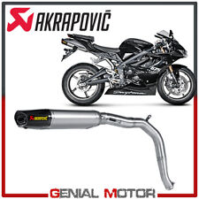Exhaust Titanium Approved Muffler Akrapovic for Triumph DAYTONA 675 2006 > 2012