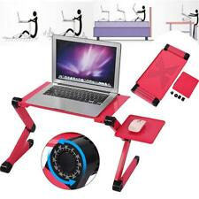 Portable Laptop Table Desk with Mouse Pad Adjustable Legs Desk Laptop Stand U