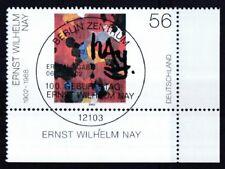 BRD 2002 gestempelt ESST Berlin Eckrand MiNr. 2267  Gemälde von E. W. Nay