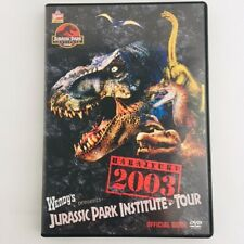 JURASSIC PARK INSTITUTE TOUR Official Guide DVD 2003 JAPAN