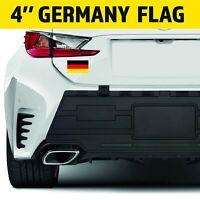 4'' GERMAN GERMANY FLAG Car Stripe Sticker Decal Accessories  VW/BMW/ Volkswagen