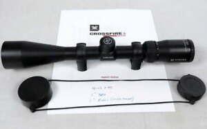 "Vortex Optics Crossfire II Riflescope 4-12x44 Hunting w/1"" High Mount Rings,Caps"