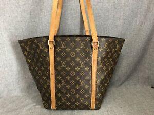 Authentic Louis Vuitton Tote Bag M51108 Sac Shopping Browns Monogram