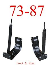 73 87 Chevy Fuel Tank Mount Set, GMC, Truck, Crew Cab, Front & Rear 2WD & 4x4