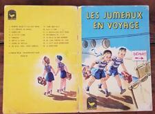 LES JUMEAUX EN VOYAGE (BERG, SMALLEY) Librairie CHARPENTIER EN 1964. (Enfantina)