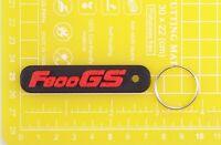 BMW F800GS F 800 GS plastic keyring Keychain Porte Cles keyholder motor