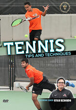 Tennis Tips and Techniques Instructional DVD - 2017 New Release - Free Shipping