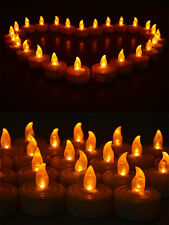 25 Flicker Light Flickering Flameless LED Candles Tea Wedding Party Home Light
