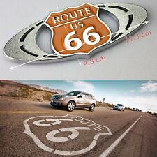 3D Car Emblem Badge Sticker Decal Metal auto logo Route 66 US For Cadillac SRX