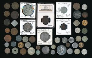 51 OLD NETHERLANDS  COINS (COLLECTIBLES) SEE IMAGES > NO RSRV
