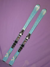 Volkl Attiva Unlimited AC women's skis 163cm w/ Marker 9.0 Speedpoint bindings ~