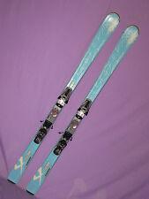 Volkl Attiva Unlimited AC women's skis 163cm w/ Marker 9.0 Speedpoint bindings ~
